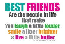 FRIENDS! HOW MANY OF US HAVE THEM? / I have amazing friends!! These are just a few awesome sayings and quotes for them and about them <3 #friends