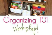ORGANIZATION OVERLOAD / I am a bit OCD... This board allows me to have my little organizational escape. #organize #clean