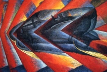 Fantastic Art: Futurism / Driven by the desire to force change in society, through the medium of art, literature and politics, this primarily Italian movement of the early 1900s offers a fantastic world view, celebrating the forces of technology, noise and speed.