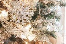 Christmas a la White / ~ I'm Dreaming of a White Christmas ~ / by Keller Hastings