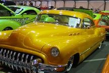 Classic Cars / My Dad loved cars and our family business had everything to do with buying and selling most 4-wheeled vehicles. I'm fond of muscle cars and '57 Chevys!  / by My Divine Romance