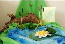 Frog Theme / Waldorf inspired frog fun!