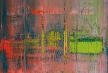 Gerhard Richter – Abstract Expressionism / A free-thinking abstract artist, using a variety of media Richter is one of the most powerful creative individuals of our time. For more information please see his website, http://www.gerhard-richter.com/art/
