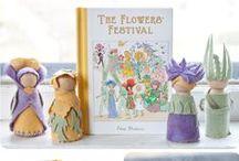 Flower Festival Theme / Waldorf inspired flower fun!