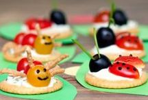 Craft a Snack / Snack time is creative time.  All kinds of fun and creative snack & lunch ideas made for and/or by kids!