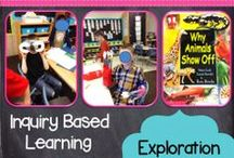 First Grade Inquiry and Concept Based Instruction / by Stephanie E