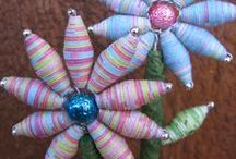 *Paper & Fabric Beads* / Ideas and tutorials for making these fabulous beads! / by Keller Hastings