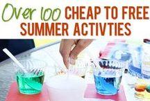 Summer Fun!!! / Fun stuff to do in the summer!
