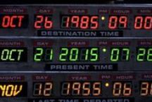 Back to the Future / It's October 21st 2015. We're here at last. So where's the damn car? Ah, here it is… See you in 1955.