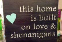 For the Home / by Gloriana Cabrero-Hansen