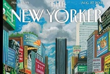the new yorker magazine covers three / by Sheila Troppe