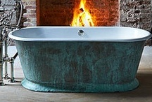 Exteriors & Texture | Inspiration / We love to experiment with textures with our baths. Did you know, Costello & Welch have come up with a range of unique finishes for our baths, and we can now paint our bathtub exterior in any RAL colour you like. #BathTub #Exteriors #CostelloWelch #Luxury #Design #Interiors