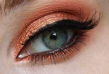 Red & Orange Makeup
