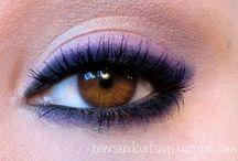 Purple & Violet Makeup