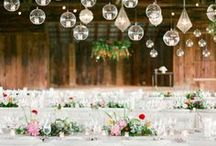 Tablescapes + settings / Gorgeous table tops, sweetheart chairs & more