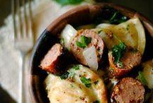 Sausage Meals / A heart denotes a tried and true recipe