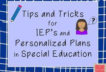 Teaching - Special Education & IEPs / Special Education & IEP: Ideas, Resources, & Activities