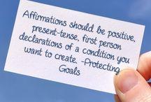 Affirmations, mantras, and chakras / by Devonie B 🎀