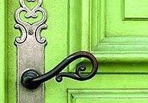 prostě jen zelené :) / mám ráda zelenou barvu ve všech odstínech (co se jinam nevešlo...)