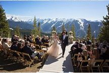 Colorado Wedding Venues / Beautiful wedding venues we're in love with around the gorgeous state of Colorado.