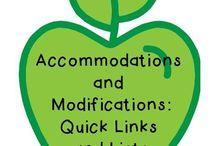 Teaching - Accommodations/ Modifications