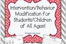 Teaching - Behavior Interventions