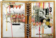 altered books+mixed media. / by Rebekah Pinson