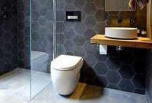 bathroom design + decoration / #interiordesign - bathroom inspiration