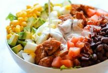 ✲ Salads / A collection of refreshing & healthy salad recipes (Main & Sides)