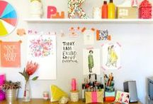 Offices / Craft Rooms I Love / by Haeley Giambalvo / Design Improvised