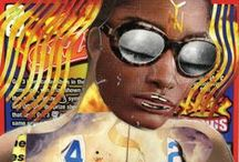 Collaged Paintings / by Kathryn Markel Fine Arts