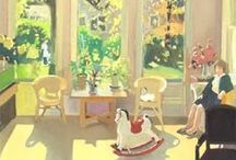 My Favorite Painters - Fairfield Porter / by Kathryn Markel Fine Arts