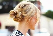 """Nice Buns / From tight top knots to low and messy, we're developing quite the collection of """"Nice Buns""""!"""
