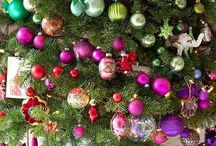 Holidays: The Christmas Board / Decorations + Gift Wrapping + Traditions