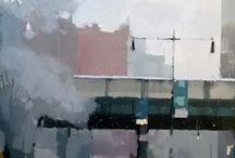 LISA BRESLOW Paintings and Prints / New landscape and cityscape paintings and monotypes by Lisa Breslow. On view: November 20th - December 20th, 2014 http://bit.ly/2bxnarh