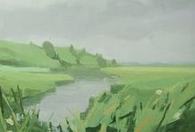 """SARA MacCULLOCH """"Landscapes"""" / New oil paintings by Sara MacCulloch, inspired by the Nova Scotia landscape.  Exhibition will take place October 16th - November 15th, 2014 Opening Reception October 16th from 6-8pm  http://bit.ly/2bMTOcp"""
