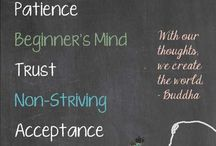 Meditation and mindfulness / Meditation and mindfulness