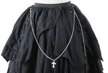 My dresses and skirts / just dresses and skirts in goth, scene or emo, punk, whatever you called style