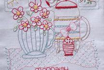 Embroidery / by frogmama (Jenny W)