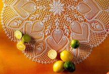 Crochet with thread