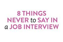Time to be Professional / Resumes, cover letters, job interview advice