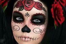Dia de los Muertos / Du suchst nach einer Alternative zu Halloween? In Mexiko habe ich den Dia de los Muertos gefeiert. Der  Tag der Toten ist eine bunte Party mit Deko, Kostümen, Make-up, Musik und leckerem Essen.