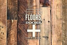 forever home :: floors, doors, + entryways