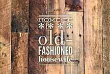 home ec :: old-fashioned housewife