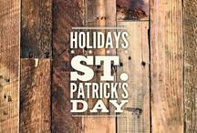 holidays :: St. Patrick's Day / May your blessings outnumber the shamrocks that grow, and may trouble avoid you wherever you go. (Irish Blessing)