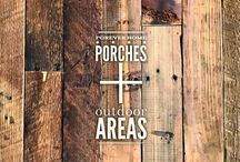 forever home :: porches + outdoor areas