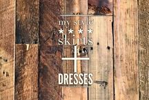 my style :: skirts + dresses