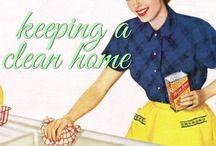 home ec :: keeping a clean home