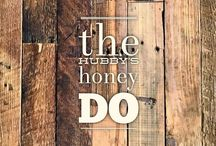 the hubby's honey do