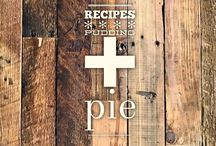 recipes :: pudding + pie